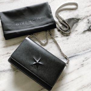 Givenchy Pandora Star Wallet on a Chain Mini Bag
